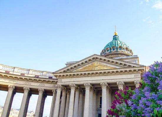 Посещение Казанского Кафедрального собора.