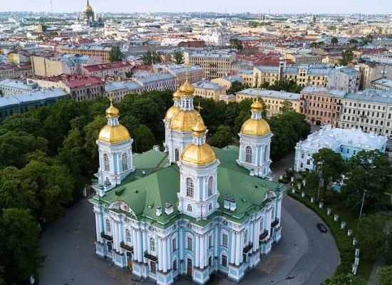 """Автобусно-пешеходная экскурсия """"Святыни Петербурга""""."""