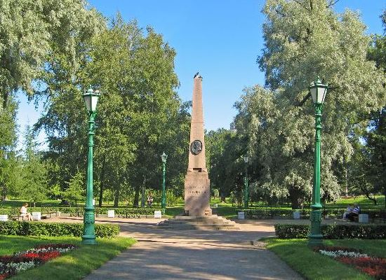 Посещение места дуэли А.С.Пушкина у Черной речки.