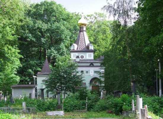 Осмотр часовни Ксении Петербургской.