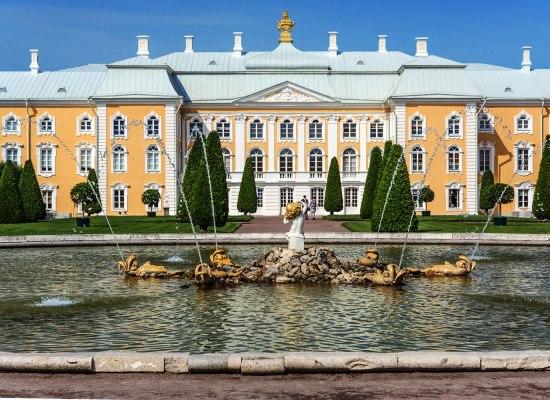 Экскурсия в Большой дворец.