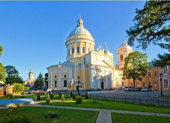 Посещение Александро-Невской лавры (без некрополя).